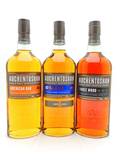 Auchentoshan Scotch Collection