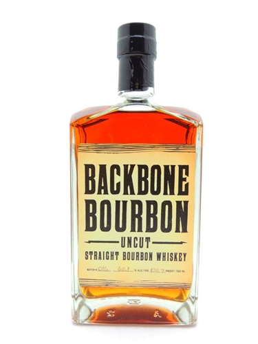 Backbone Bourbon Whiskey Uncut
