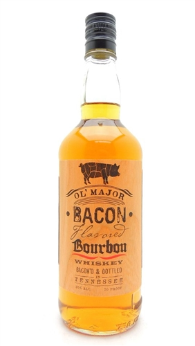 OL Major Bacon Bourbon Whiskey