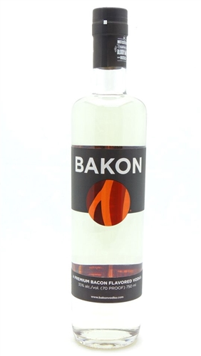 Bakon Vodka A Premium Bacon Vodka