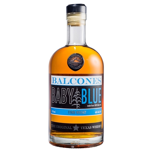 Balcones Whiskey Baby Blue Corn Whiskey