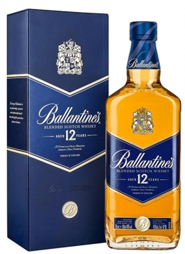 Ballantine's 12 Year Old Scotch