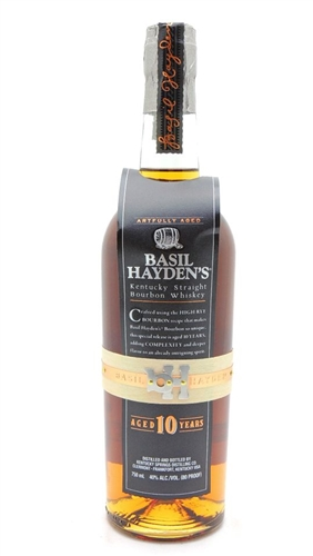 Basil Hayden's 10 Year Old Bourbon Whiskey