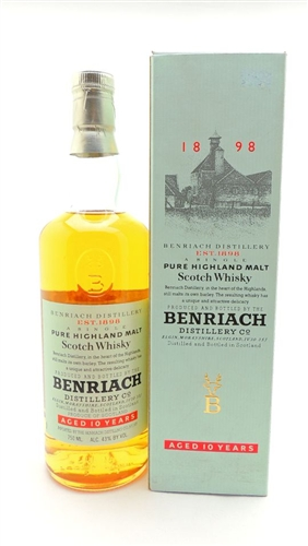 Benriach 10 year scotch