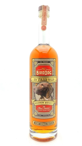 Bird Dog 10 Years Old Bourbon Whiskey
