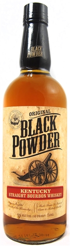 Black Powder Bourbon Whiskey Half Gallon