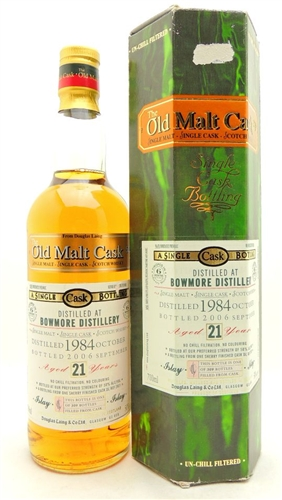 Bowmore 21 Years Old Scotch Douglas Laing