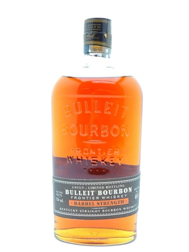 Bulleit Barrel Strength Bourbon WhiskeyBourbon Whiskey