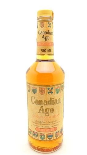 Canadian Age Whiskey