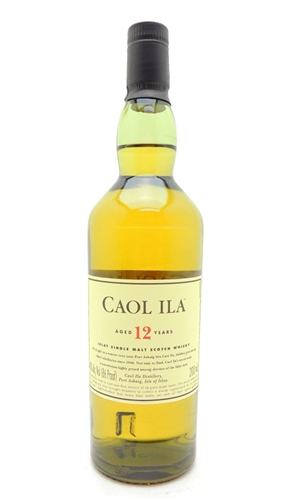 Caol Ila 12 Year Old Scotch Half Pint