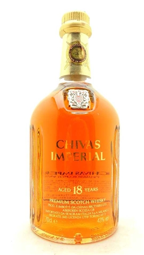 Chivas Imperial Scotch 18 Year Old