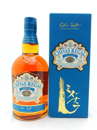 Chivas Regal Mizunara Scotch Whiskey