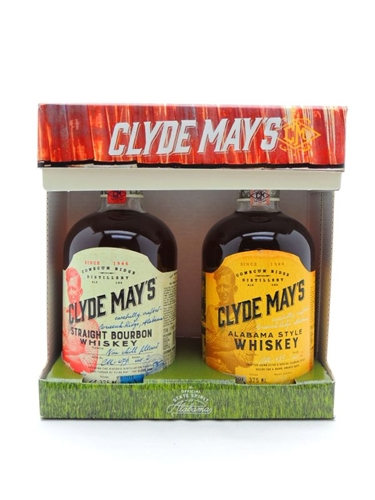 Clyde May's Bourbon Whiskey Gift Set