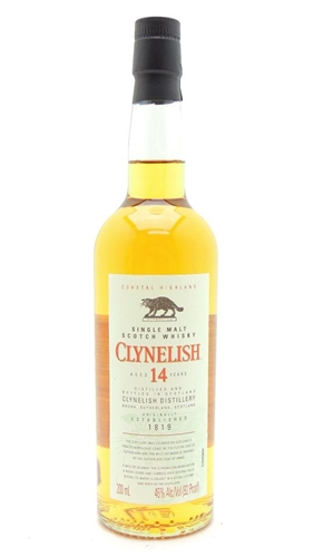 Clynelish 14 Year Old Scotch Half Pint