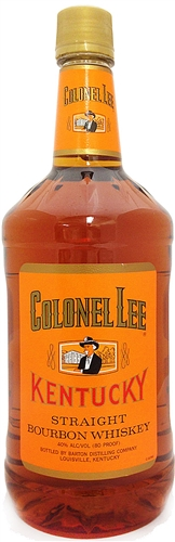 Colonel Lee Bourbon Whiskey