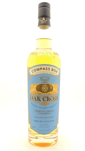 Compass Box Oak Cross Scotch Whisky