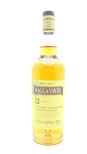 Cragganmore 12 Year Old Scotch Half Pint