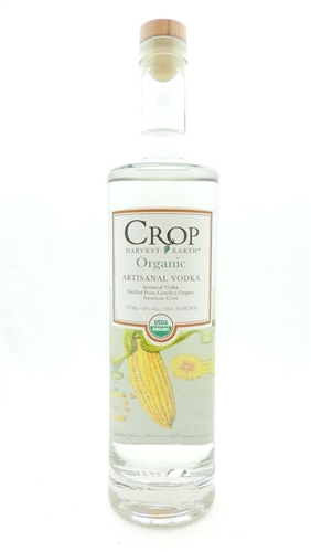 Crop Harvest Earth Organic Artisanal Vodka