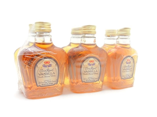 Crown Royal Vanilla Miniature Sleeve Set