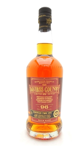 Daviess County Bourbon Cabernet Sauvignon Cask Finish