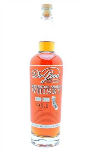 Do Good Beechwood Smoked Whiskey