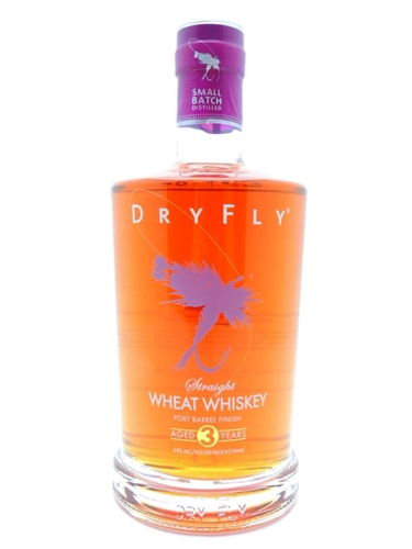 Dry Fly Wheat Whiskey Port Finish
