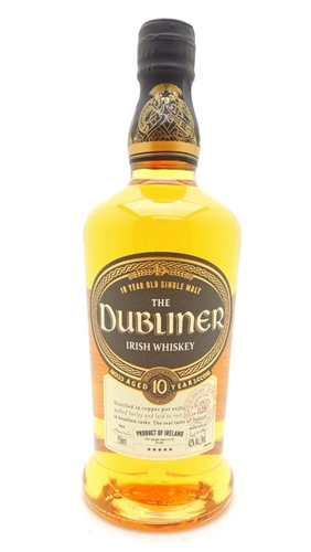 Dubliner 10 Year Old Irish Whiskey