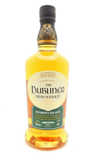 Dubliner Irish Whiskey Bourbon Casked Aged