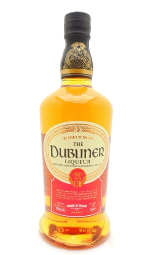 Dubliner Liqueur Irish Whiskey with Honeycomb