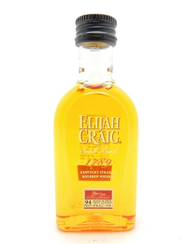 Elijah Craig Miniature 50 ML Small Batch Bourbon
