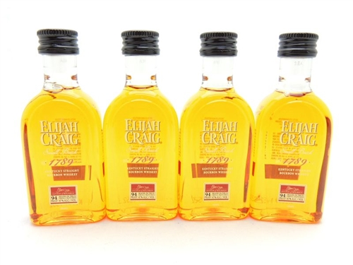 Elijah Craig Miniature 4 x 50ML Small Batch Bourbon