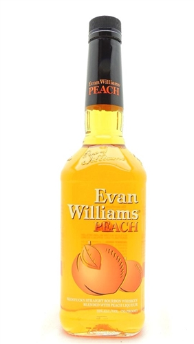 Evan Williams Peach Bourbon Whiskey