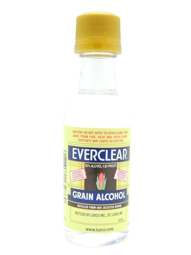 Everclear Grain Alcohol Miniature