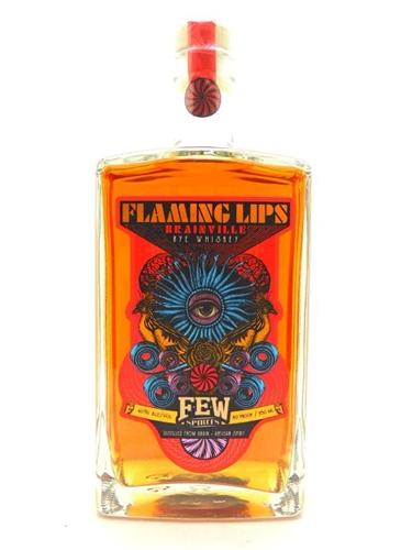 Flaming Lips Brainville Rye Whiskey by Few Spirits
