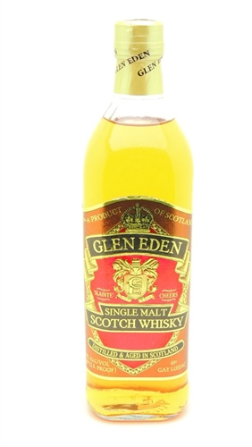Glen Eden Scotch Single Malt Scotch Whisky