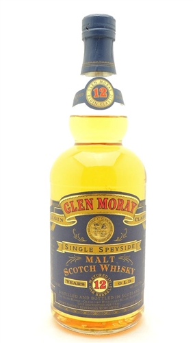 Glen Moray Scotch 12 Years Old