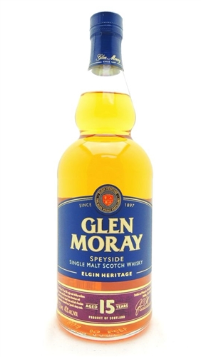 Glen Moray 15 Year Old Single Malt Scotch
