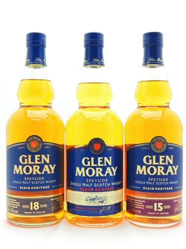 Glen Moray Scotch Collection