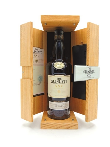 Glenlivet 25 Year Old Scotch