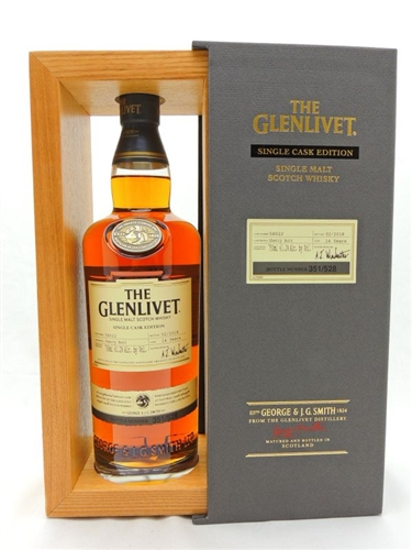 Glenlivet 14 Year Old Sherry Single Cask Edition Scotch