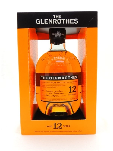 Glenrothes 12 Year Old Single Malt Scotch Whisky