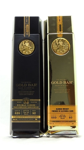 Gold Bar Bourbon Whiskey Collection