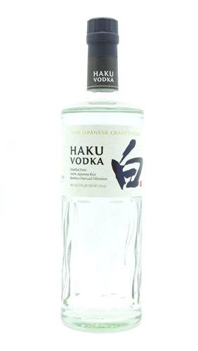 Haku Japenese Vodka by Suntory