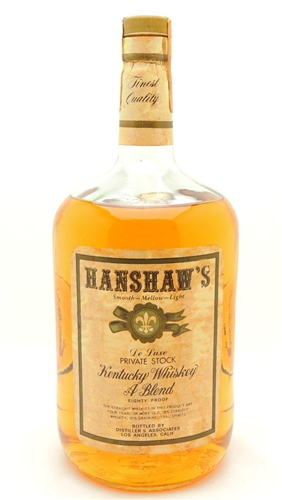Hanshaw's Whiskey