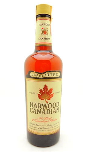 Harwood Canadian Whiskey