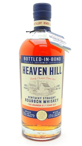 Heaven Hill 7 Year Old Bourbon Bottled in Bond