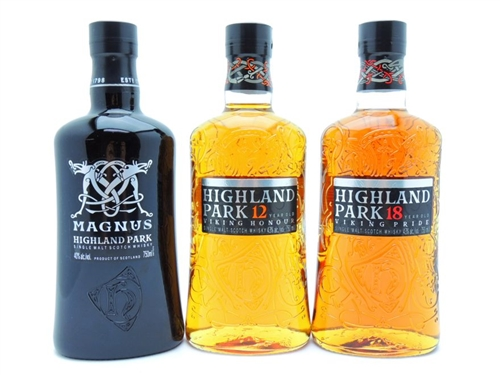 Highland Park Scotch Collection