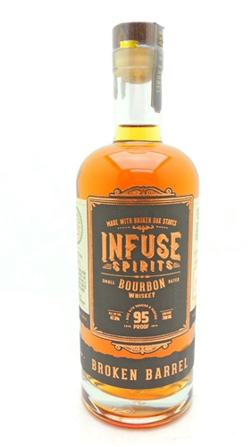 Infuse Spirits Broken Barrel Bourbon Whiskey