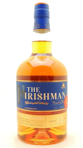 Irishman 12 Years Old Whiskey