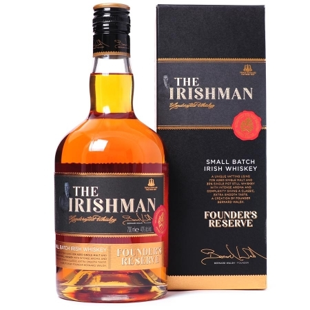 Irishman Whiskey Founder's Reserve